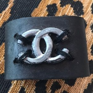 LEATHER CUFF Handmade